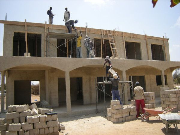 La construction for Construction de villa